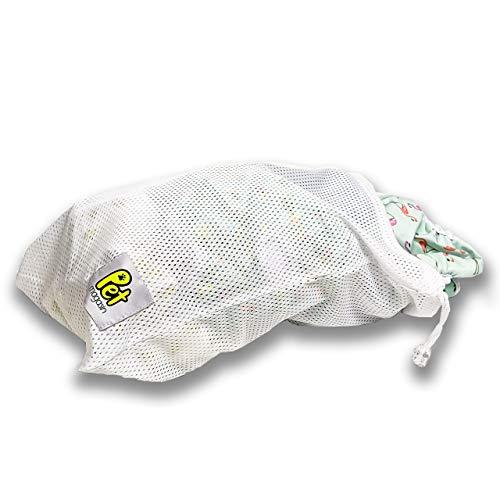 Haustier Wäschesack für die Waschmaschine, Robustes Mesh mit Kordelzug Wäschesäcken