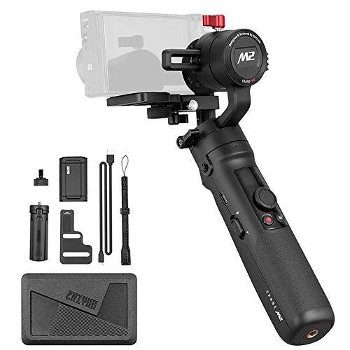Zhiyun Crane M2 3 assi cardanico per iPhone Sumsung Huawei smartphone Gopro 5 6 7 Sony Panasonic Canon Mirrorless Camera