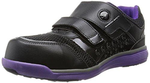 [マルゴ] 安全靴 作業靴 樹脂先芯 軽量 JSAA A種 耐油 4E マンダムセーフティーLight 769 PP/BK 27 cm