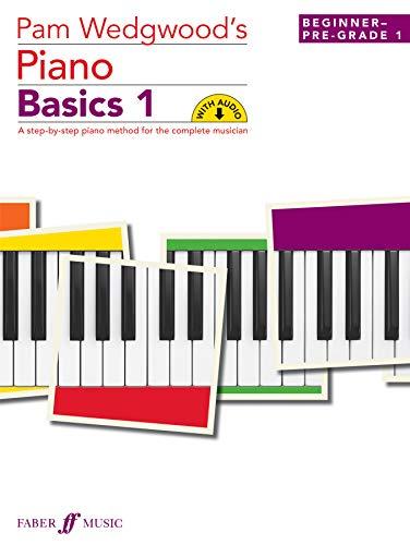 Pam Wedgwood Piano Basics Volume 1 New Piano (Buch&CD)