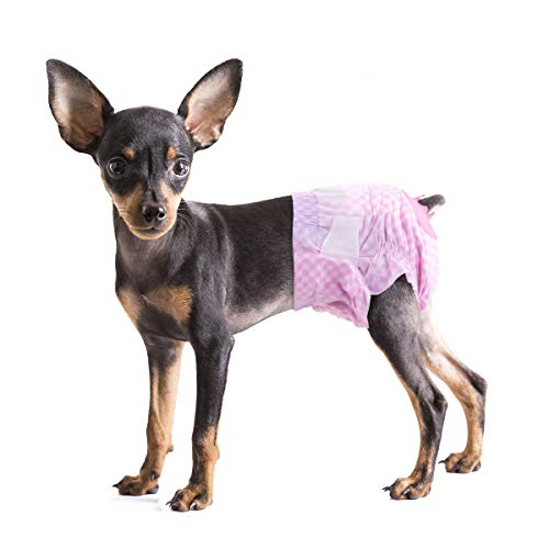 Pet Soft Doggy Diapers Female - Dog Diapers Small...
