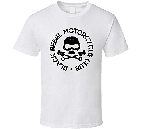 Black Rebel Motorcycle Club Band Shirt Black White Tshirt Men's White L