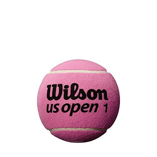 Wilson US Open Mini Jumbo Tennis Ball, Rosa