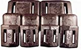 Arrow Weights 2lb Uncoated Lead Weight perfect for Scuba Divers