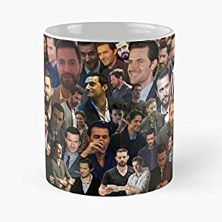 Richard Armitage - Coffee Mugs Unique Ceramic Novelty Cup Best Gift
