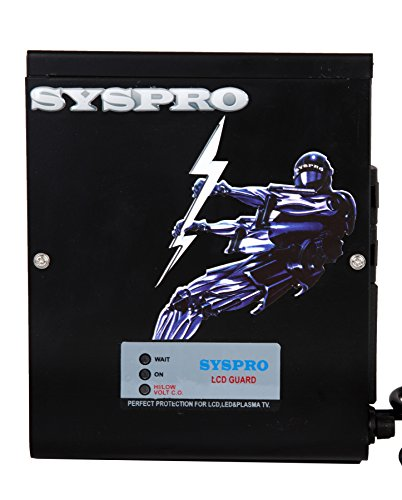 SYSPRO Commander Voltage Stabilizer for LED/LCD TV + Set Topbox...