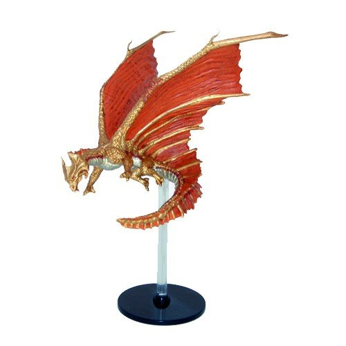 Dungeons and Dragons Miniatures Elemental Evil 42 Brass Dragon