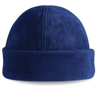 Beechfield Bonnet en tricot pour homme Bleu marine