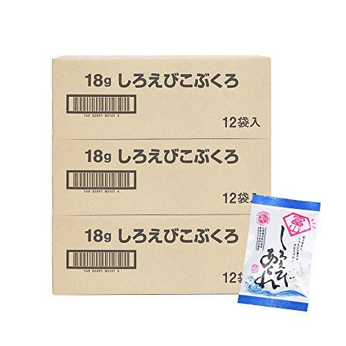 米蔵 あられ(しろえびこぶくろ12袋) 国産もち米使用 富山 丸米製菓 (3箱)