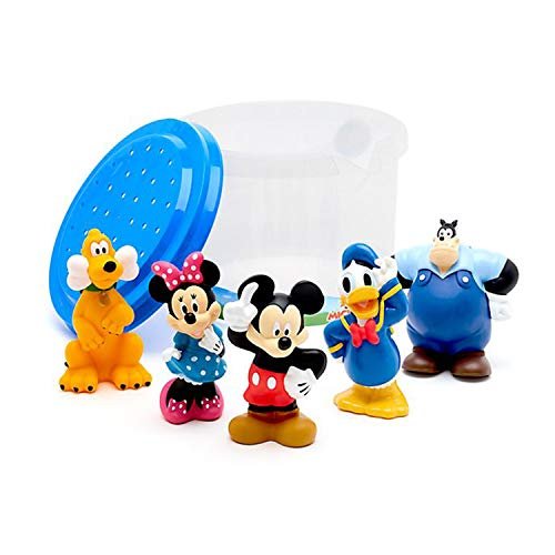 Disney Store Mickey and Friends Bath Toy Set - Bring mouseketeering fun to the tub!