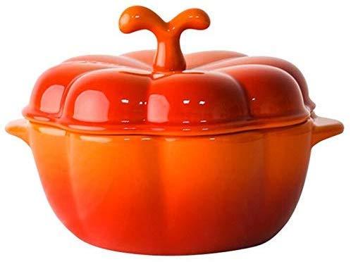Topf 5-Zoll-kreative Art und Weise einige Kürbissuppe Pot/Pan/Non Stick Milch Obst Pan Herd Kochtopf 4pcs / Set