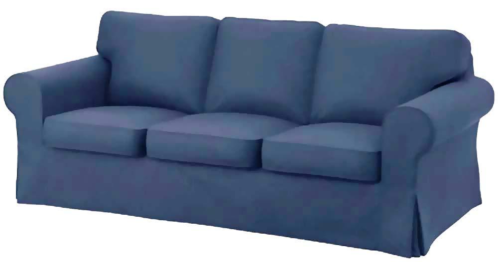 Amazon Com The Premium Heavy Cotton Ektorp 3 Seat Sofa Cover