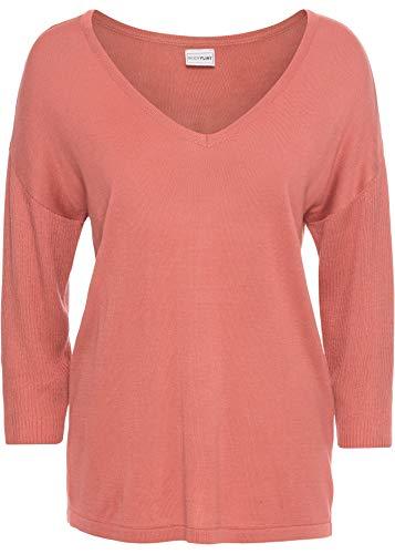 bonprix Lässiger Pullover in Oversize-Form rauchpfirsich 48/50 für Damen