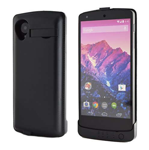 nexus 5 cases Nexus 5 Battery Charger Case Rechargeable Back-Up Power by Phone Charger Case