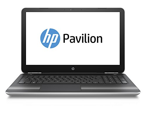 HP Pavilion (15-bc004ng) 39,6 cm (15,6 Zoll FHD IPS) Laptop (Intel Core i5-6300HQ, 8GB RAM, 256GB SSD, Nvidia GeForce GTX 950M, Windows 10) silber
