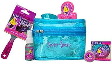 SweetLocks Sleepover Kit for Girls, Razzle Dazzle Berry