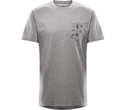 T-Shirt technique MIRTH Homme - Grey Melange, XL