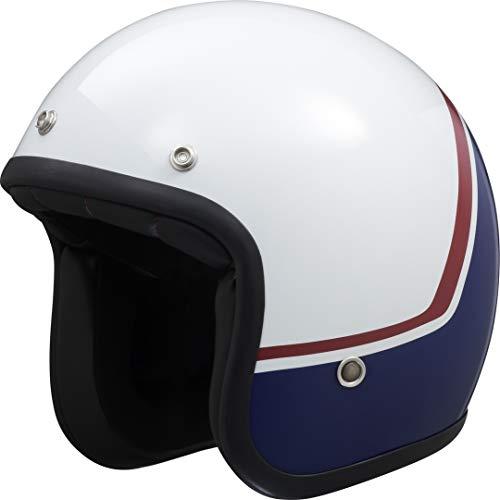 IXS 77 2.2 Jethelm Weiß/Blau/Rot M (57/58)