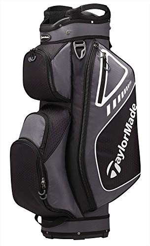 TaylorMade 2019 Golf Select Cart Bag, Gray/Black