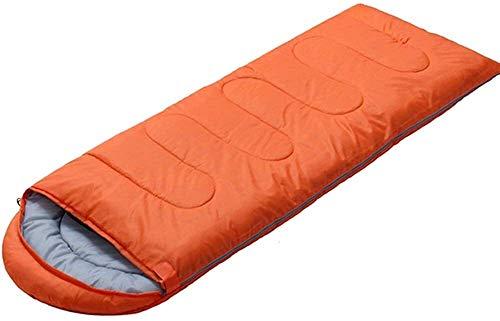 ROLLDC Sport Sac de couchage vie Backpacking - Léger, confortable, résistant à l'eau, 3 Saison Sac de couchage - Idéal for la randonnée, Camping & Outdoor Adventures - Taille régulière, Couleur: Jaune