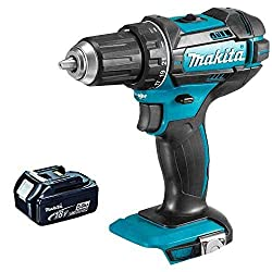 1 x Makita DHP482Z Combi drill 1 x 5.0Ah BL1850 battery