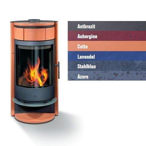 Buderus blueline Nr. 7 kachel 8 kW verwarming oven, kleur § algemeen: Aubergine