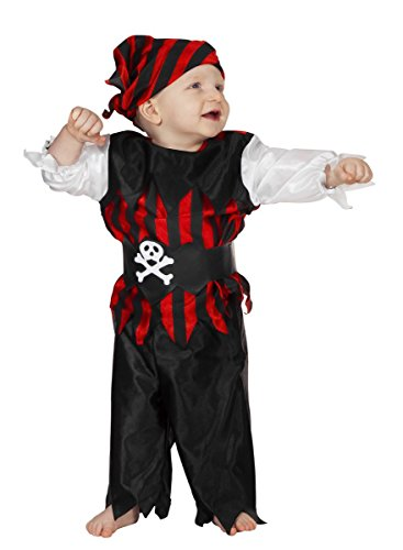 Wilbers Pirate pour Enfant 6–12 Mois