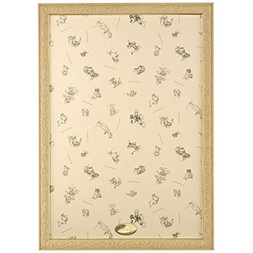 パズルフレーム ディズニー専用 アートフィギュアパネル 1000ピース用 ナチュラル(51x73.5cm)