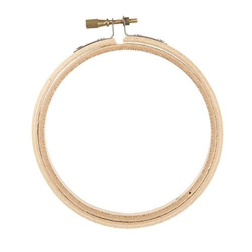 Darice Wood Embroidery Hoop, 4-Inch