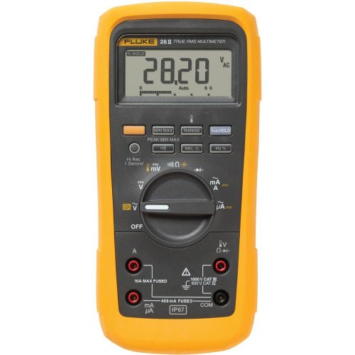 Fluke 28 II True-RMS Rugged IP 67 Industrial Digital Multimeter