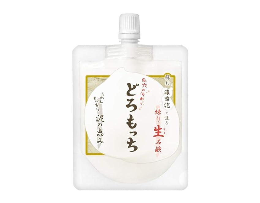 イタリアのアレンジからアエナ 洗顔 練り生せっけん [もっちり吸い付く 濃厚泡] 泥石けん 保湿 毛穴汚れ どろもっち 150g