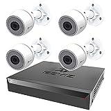 EZVIZ PoE Security Kit (8 Channels) - Cámara de vigilancia (1080P Full HD 8 CH 8 Canales NVR inalámbrico con 8 X 5.0MP cámara IP)