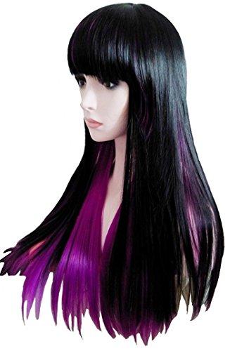 68cm/26'Ombre peluca sinttico largo recta Harajuku/Lolita Style