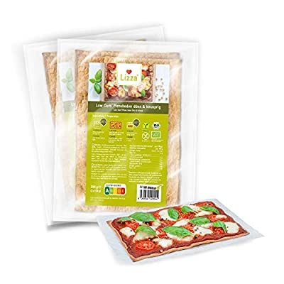Lizza Low Carb Pizza Thin and Crispy by Lizza GmbH