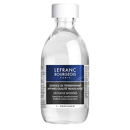 Lefranc Bourgeois Essenza Di Trementina Raffinata - Flacone Da 250ml