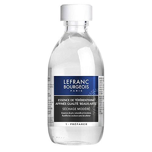 Lefranc Bourgeois Additif Essence Térébenthine Flacon 250ml