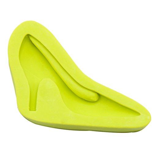 Silikon Fondant Form Candy Sugar Form DIY Kuchen dekorieren Tools High Heel Shoe