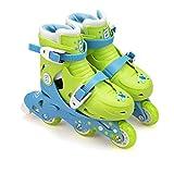 Funbee Rollers évolutifs 2 en 1 Position Patins ou Rollers par système de visserie - Taille Ajustable (27-30) - Enfants dès 3 Ans - D'arpèje - OFUN084-G
