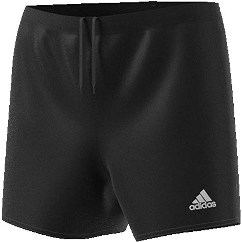 adidas Womens Parma 16 Shorts, Black/White, M/L