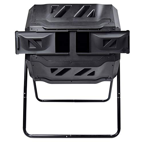 Why Should You Buy Xuejuanshop Garbage Container Bins Large Compost Bin Double Rotating Outdoor Gard...