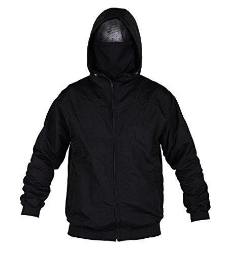 Ultras Hooligan ACAB Riot Zipperjacke mit eingearbeiteter Sturmhaube L1 (L)