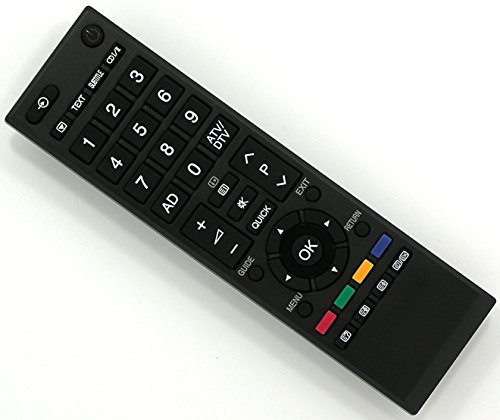 Ersatz Fernbedienung für Toshiba TV Fernseher Remote Control / TO02 / 32LV733 32LV733F 32LV733G 32LV733N 32LV833G 32LV933G 32RV623D 32RV625 32RV625D 32RV625DG 32RV626D 32RV626DG 32RV633D 32RV635 32RV635D 32RV635DB 32RV635DG 32RV636D 32SL738B 32SL738F 32SL738G 32V603PG 32W2433DB 32W2443DG 37AV603PG 37AV603PR 37AV605PB 37AV605PG 37AV605PR 37AV607P 37AV607PG 37AV613DG 37AV615DB 37AV615DG 37AV616DB 37AV623D