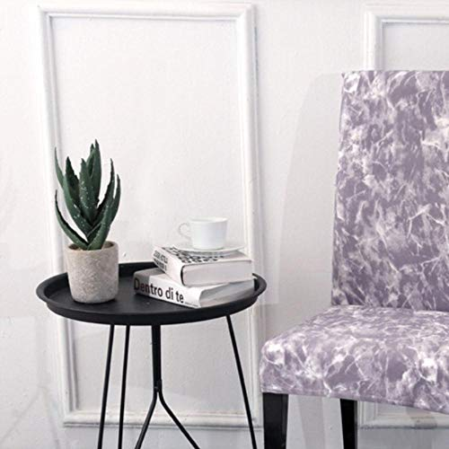 LIMMC - Funda elástica para silla de comedor con estampado floral para cocina, boda, fiesta, restaurante, banquete, Color 5, talla universal