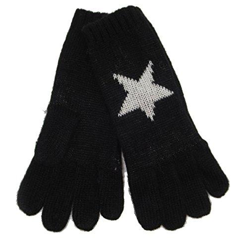 CODELLO 32098503 D09 [18] Poetry Grunge Knit Handschuhe - schwarz (COL 07)