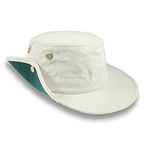Village Hats Tilley T3 Packbarer Sonnenhut - Natur - 7 7/8