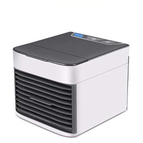 Natheeph Mini Aire Acondicionado portátil Espacio Personal Aire Acondicionado Aire Acondicionado USB humidificador Recargable Ventilador de Escritorio de refrigeración de Aire