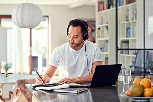 Sennheiser PC 5.2 CHAT, kabelgebundenes Headset für entspanntes Gaming, e-Learning und Musik, Noise-Cancelling-Mikrofon, Call Control, hoher Komfort, Mikrofon (klappbar) – 3,5-mm-Klinkenstecker
