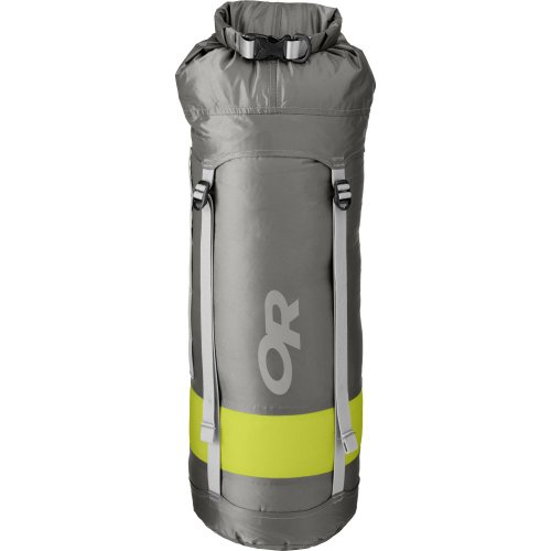 Outdoor Research Airpurge Dry Compr Sk 35l Étain Taille 1