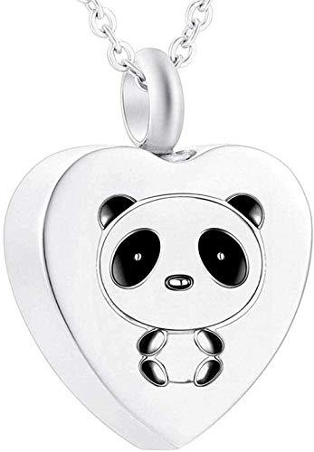 Collar De Cenizas Colgante Conmemorativo Joyas De Cremación Colgante De Urna Collar De Urna Panda Tallado Collar De Urna Estatua De Buda