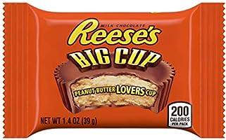 REESE'S Big Cup Standard Bar - Großer Erdnussbutter-Cup-Riegel: 1 Stück (1 x 39g)